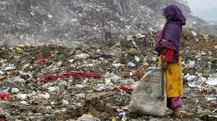 ndia, newdelhi, delhi, dump, poverty, children, girl, rubbish, ngo, charity, rag, pickers, ragpickers, collectors, poor, savethechildren, nepal, kathmandu, bangladesh, indian, family, kids, living, rags, tip, salvaging, rupees, documentary, journalist, exhibition, project